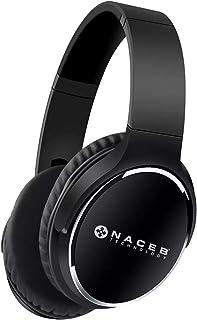 NACEB TECHNOLOGY BOCNCB660 Diadema Bluetooh Fornax Na-0308N, Negro, Bluetooth