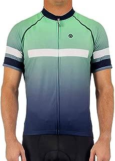 Canari Cyclewear Men's Aero Jersey, Magic Mint, X-Large