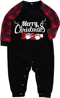 Pijamas Navidad para Familias Pijamas de Navidad Familia Conjunto Conjuntos de Pijamas Navideños para Familia Pijama para la Familia Padre Madre Niño Bebé