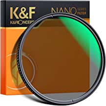 67mm Circular Polarizers Filter, K&F Concept 67MM Circular Polarizer Filter HD 28 Layer Super Slim Multi Coated CPL Lens F...