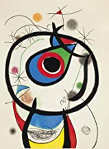 Berkin Arts Joan Miro Giclee Canvas Print Paintings Poster Reproduction (Galathee)
