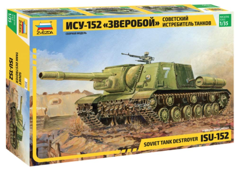 Zvezda - Maqueta de Tanque Escala 1:35 (Z3532): Amazon.es: Juguetes y juegos