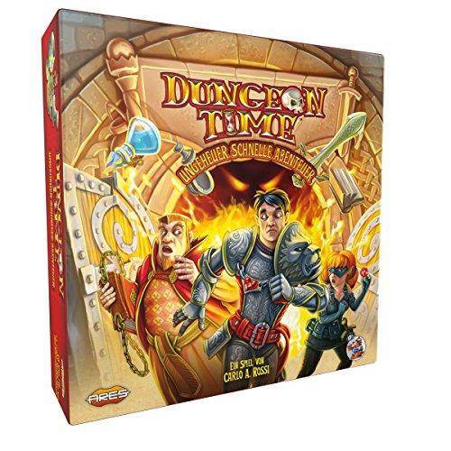 Asmodee ARGD0073 Dungeon Time - Ungeheuer schnelle Abenteuer, Spiel