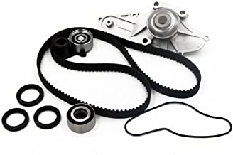 Timing Belt Water Pump Kit fits for 2003 2004 2005 2006 2007 2008 2009 Acura MDX, RL, TL, 2005-2009 Honda Odyssey, 2005-2008 Pilot, 2006-2008 Ridgeline, 2003-2007 Accord, 2004-2007 Saturn Vue V6 SOHC