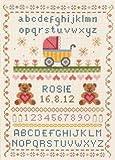 Anchor - Kit para Punto de Cruz, diseño Tradicional de Nacimiento de bebé
