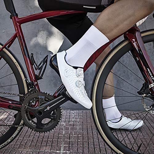 GripGrab Calcetines Ciclismo Verano Lightweight SL Performance 8 Colores Altura 12 cm y 15 cm Ciclistas Carrerera MTB
