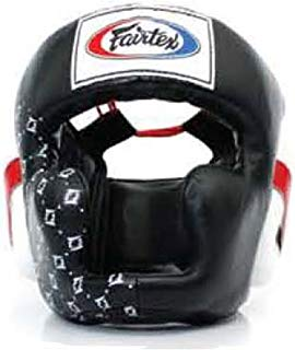 Fairtex Headgear Head Guard Super Sparring HG3, HG10, HG13 Diagonal Vision for Muay Thai, Boxing, Kickboxing