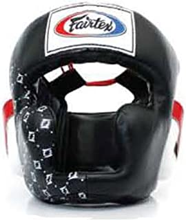Fairtex Headgear Head Guard Super Sparring HG3, HG10, HG13 Diagonal Vision for Muay Thai, Boxing, Kickboxing