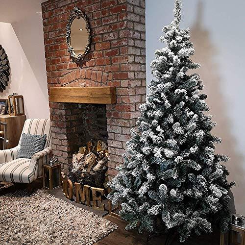 Kaemingk Snowy Imperial Hinged Pine Tree 210cm - 9680952