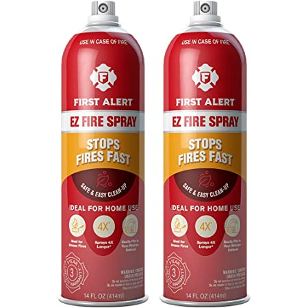 FIRST ALERT SA101X2 3055574 fire extinguisher, 2-pack