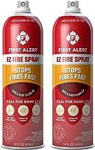 First Alert AF400-2 Tundra Fire Extinguishing Aerosol Spray, 2-Pack