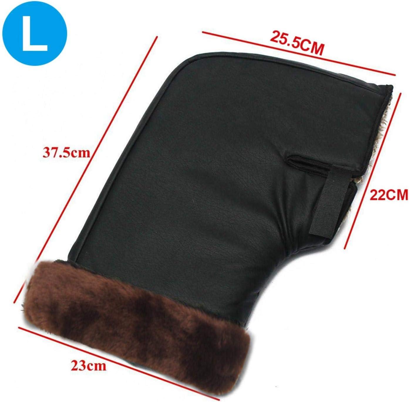 Chuanfeng Winter Motorradhandschuh Warme Muffs Handschuhe Für Roller Scooter Fahrrad Motorrad Handlebar Cover Gloves Lenkerstulpen Auto