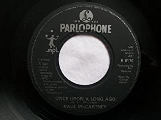 Paul McCartney Once Upon A Long Ago UK 45 7