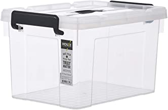 HOUZE SB-1312 Strong Handheld Box, 18 L, Clear
