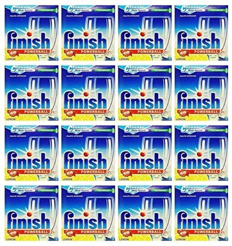 240 Tabs Finish Classic Powerball Limón detergente para lavavajillas en TAB