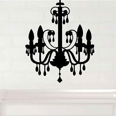"""Vinyl Wall Art Decal Chandelier Modern Lamp Design Wall Decal 36/"""" x 21/"""""""