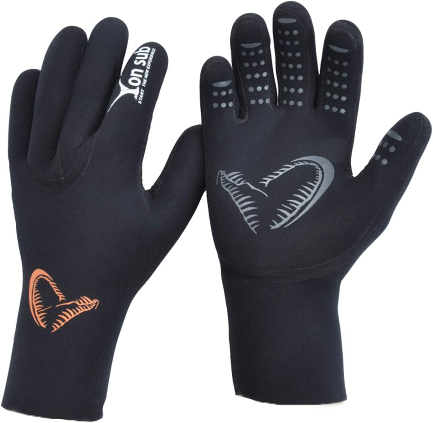 Gorgeous yonsub 3mm Anti-Slip Neoprene Five Gloves Diving Finger Warm for Outlet sale feature