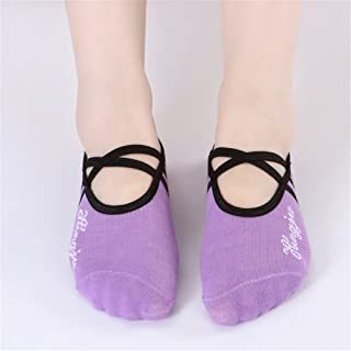 Round Head Strapless Yoga Non-Slip Handrail for Women Yoga Socks,Fully Breathable
