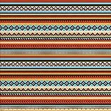 Lunarable Indianer-Stoff von The Yard, Ethnisches