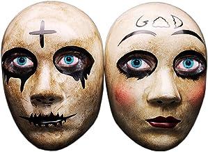 Cross & God & kiss me Horror Killer Purge Couple mask,The Purge Anarchy Movie