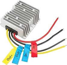 uxcell Power Converter Regulator DC12V 10V 16V Step-Up to DC19V 8A 152W Waterproof Voltage Convert Transformer
