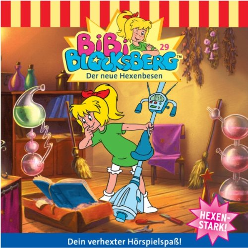 Der neue Hexenbesen (Bibi Blocksberg 29) Titelbild