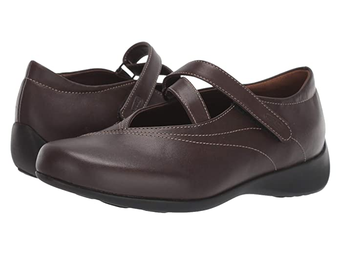 Wolky  Passion (Cafe Smooth Leather) Womens Flat Shoes