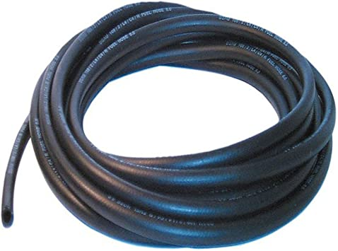 AutoSilicon. 10mm ID Black 3 Metre Length Fuel and Oil Resistant Rubber Hose