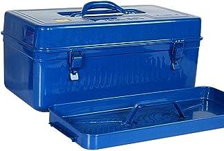 Draagbare gereedschapskist, robuust, verdikt smeedijzer, met aparte accessoirekoffer en robuuste gereedschapskist, groen, ...