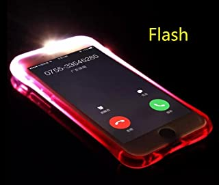 For Galaxy Note8 Case, Omio Cool Flashing Light Up To Remind Incoming Call Slim Cover Creative Flash Alert By Phone's LED Refraction Soft Flexible TPU Ultra Thin Clear Shell For Samsung Galaxy Note 8