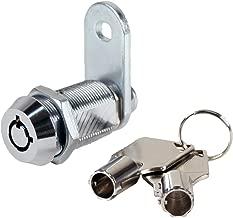 FJM Security 2400AL-KA Tubular Cam Lock with 1-1/8