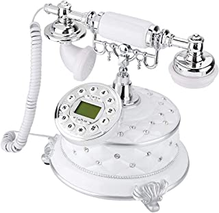 Yoidesu Antique Telephone,High-end Retro Vintage Telephone for Home Decor,Fixed Digital Landline Phone - with Incoming Cal...