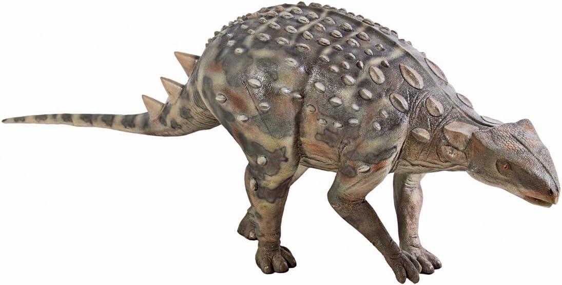 Miami Mall Design Toscano Minmi gift Ankylosaurus Statue Dinosaur Scaled