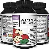 Apple Cider Vinegar Pills - Weight Loss Supplement & Appetite Suppressant - Pure Natural Detox - Increase Metabolism + Burn Fat - Apple Cider Vinegar Capsules for Men & Women by Phytoral