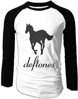 Deftones White Pony Men's Cotton Full Raglan Sleeve Baseball Tee Shirt