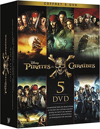 Pirates des Caraïbes-Intégrale-5 Films