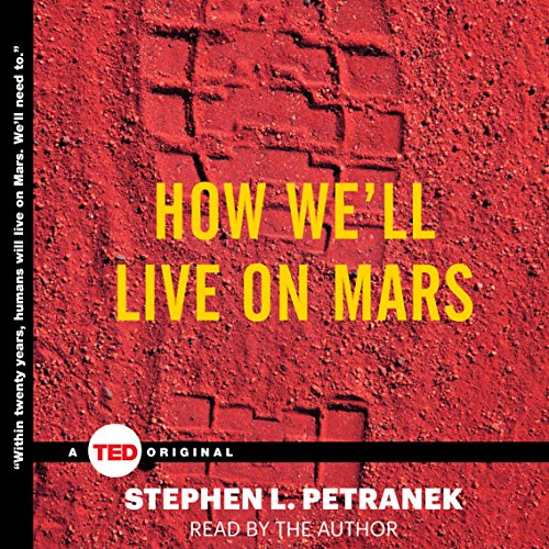 How We'll Live on Mars audiobook cover art