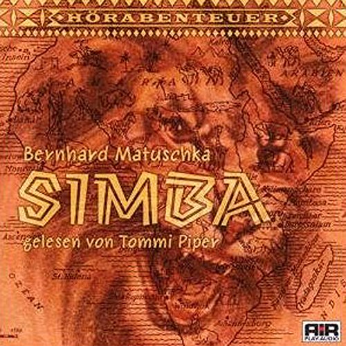 Simba audiobook cover art