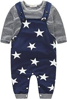 Allence Babykleidung Allence Prämie Reine Baumwolle Set Kleidung, Neugeborenes Baby Strampler Star Kleidung Sets, Hosen Tops Cute Jumpsuit Outfit Body