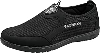 Midress Fashion Mesh Breathable Sport Shoes for Women Lightweight Slip On Loafers Shoes Ladies Tennis Sports Sneakers