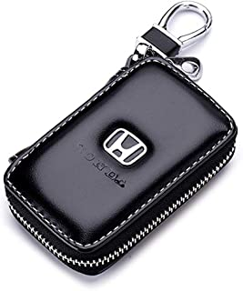 Gaocar Auto Parts Car Key case for Honda,Genuine Leather...
