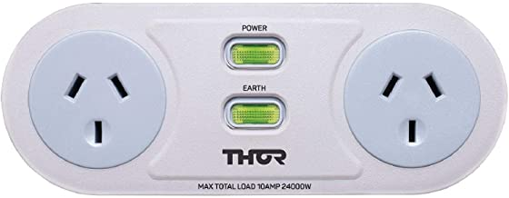 Thor C2 Smart Filter Duo 2 Surge Protected AC Outlets Filtered Twin
