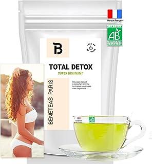 Thé Minceur – bruleur de graisse puissant – TOTAL DETOX – coupe faim efficace pour perte de poids – The vert drainant au M...