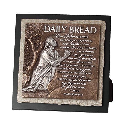 vuurtoren christelijke producten momenten van geloof dagelijks brood bidden handen kleine sculptuur plaque