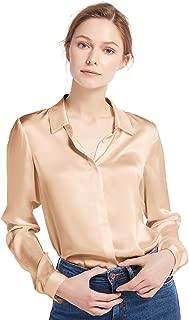 Best hot pink silk blouse Reviews