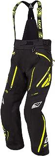 FXR Mens Renegade X Insulated Snowmobile Pants '20 (Black/Hi-Vis, Large)