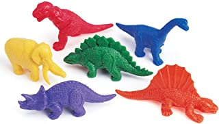 Learning Resources Mini-Dino Counters, Educational Counting and Sorting Dinosaur Toy, Set of 108, Ages 3+