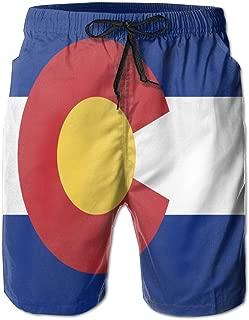 Maryland/Rastafari/Italy/Colorado/Arizona Flag Mens Board Shorts Beach Swim Trunks Beachwear Running Shorts