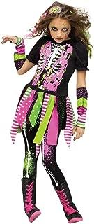 neon zombie girl costume