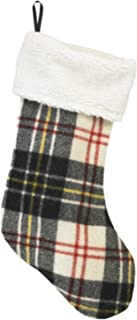 Woolrich Buffalo Check Christmas Stocking (Made in The USA), Multi Plaid (Multicolou)